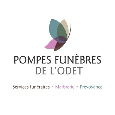 Logo pompes funébres de l'odet Pluguffan Quimper Pont L'Abbé Concarneau Fouesnant Audierne Douarnenez